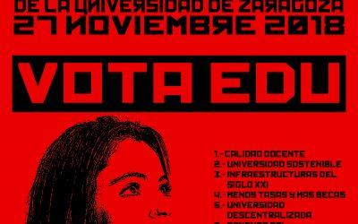 Por una Universidad accesible, Vota E.D.U.
