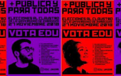 + PÚBLICA Y PARA TODAS, VOTA E.D.U.