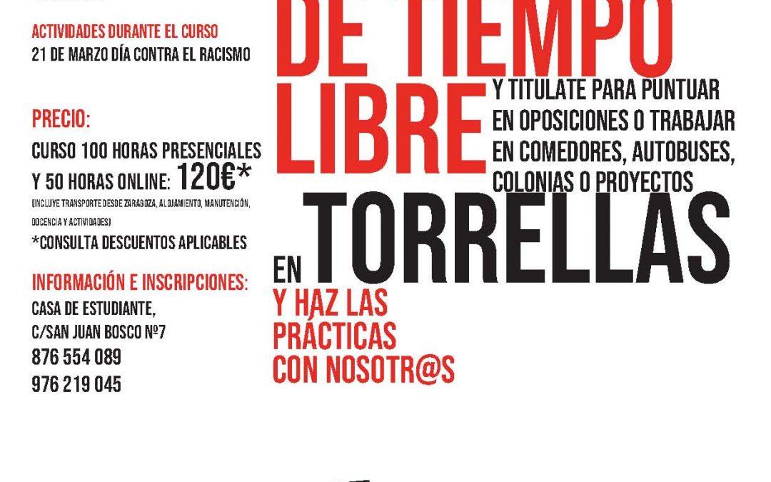 CURSO DE MONITOR/A DE TIEMPO LIBRE