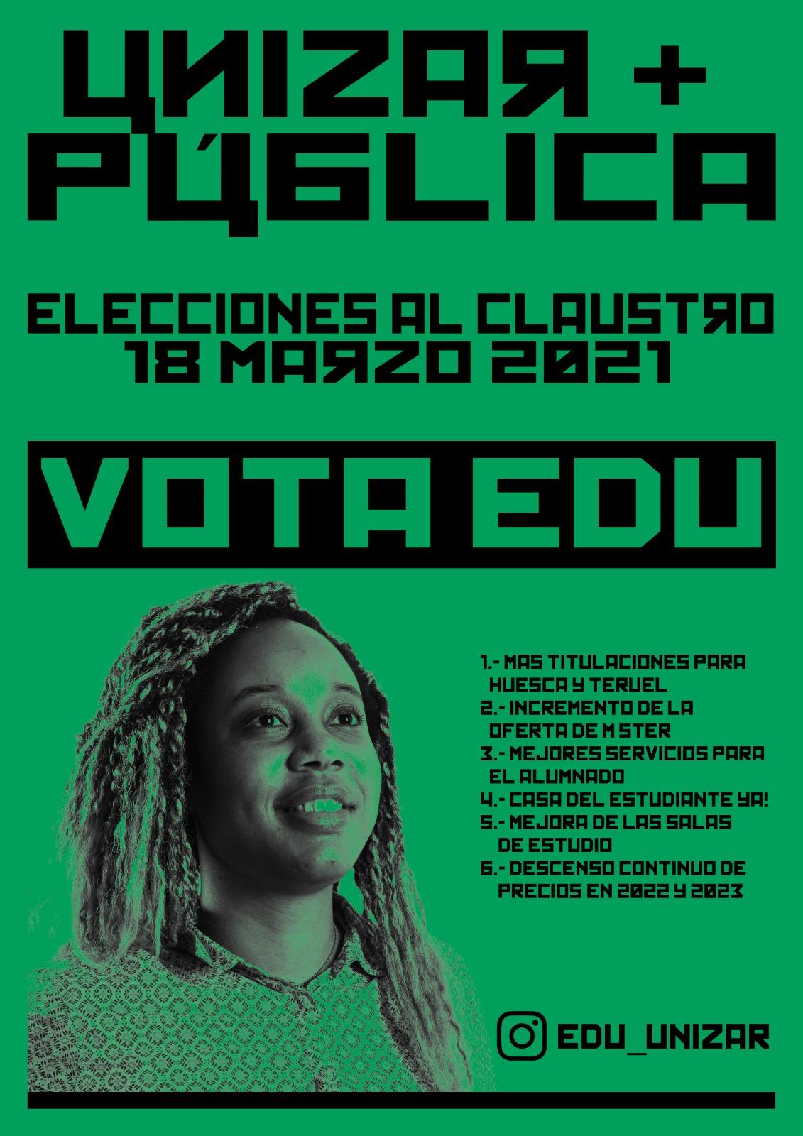 PROGRAMA ELECCIONES A CLAUSTRO 18 MARZO 2021
